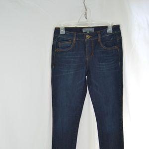 Size 2 Dark, Slim Bootcut Denim Jeans